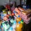 Enviamos carro de comida a una familia sin recursos