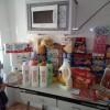 MVP dona un carro de comida para una mami soltera y su peque de 5 años