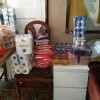 NPSD envía un carro de comida a Yanina, a sus papis, abuela y perris
