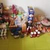 NPSD envía leche, pañales y comida a una familia sin recursos