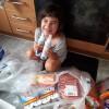 NPSD envía un carro de comida a Naila, peque de 5 años