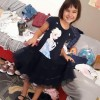 NPSD hace feliz a Naila enviándole ropa para el cole